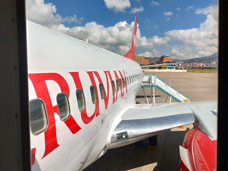 【ペルビアン航空機内食・搭乗記】P9222/CUZ-LIM/クスコ-リマ