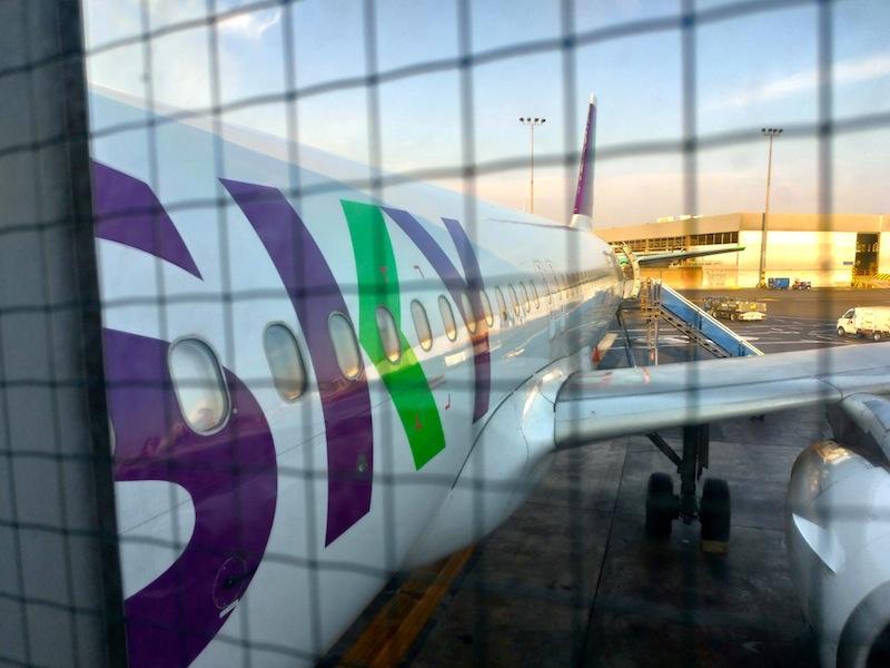 【スカイ航空機内食・搭乗記】H2801/LIM-SCL/リマ-サンティアゴ