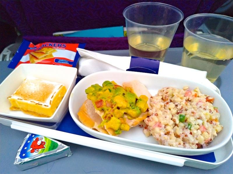 【LATAMチリ航空機内食・搭乗記】LA844/IPC-SCL/イースター島-サンティアゴ