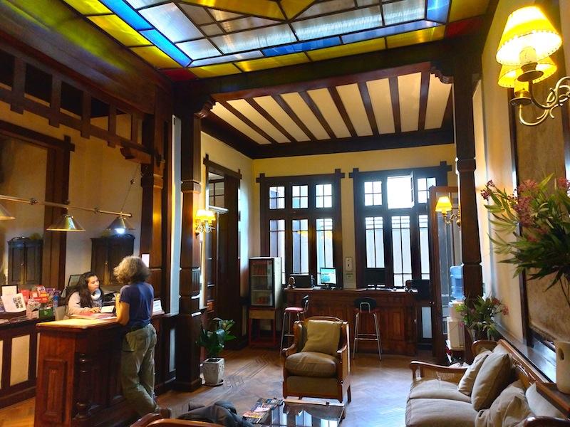 【世界一周】サンティアゴのステキコロニアルなホステル「Casaltura the Boutique Hostel」