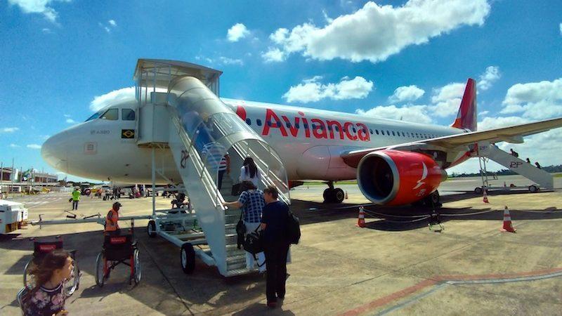 【アビアンカ・ブラジル航空搭乗記】O66185/IGU-GRU/フォズ・ド・イグアス-サンパウロ(グアルーリョス)