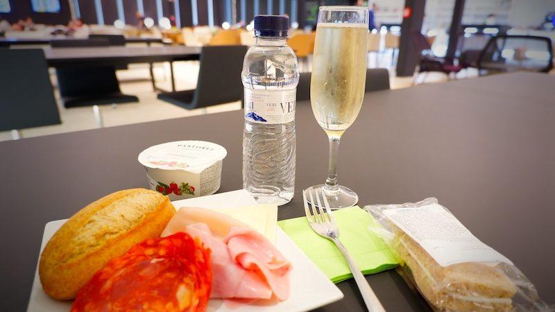 【空港ラウンジ】バルセロナ・エルプラット国際空港(BCN)ターミナル2「Sala VIP Canudas」