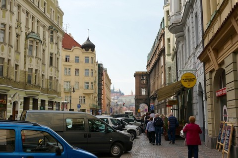 <中欧3カ国周遊その37>プラハ市内を軽く散策