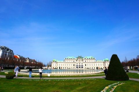 <中欧3カ国周遊その29>ベルヴェデーレ宮殿とオーストリア・ギャラリー(ベルヴェデーレ宮殿上宮)