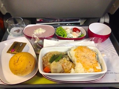 <タイ国際航空機内食>TG660/BKK-HND/バンコク-東京(羽田)
