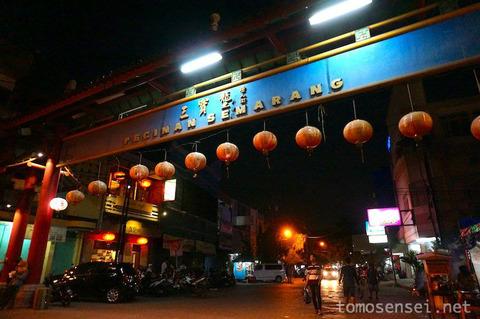 【ジャワ島】24_スマランのナイトマーケット「Pecinan Semarang」と深夜の屋台飯