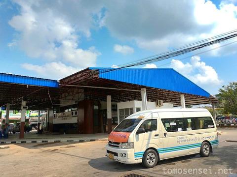 【チャンタブリー】バスにゆられてバンコク・東バスターミナルへ