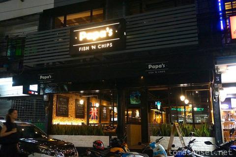 郊外の有名ハンバーガー店がアソーク・ソイ23に!「Papa's FISH 'N CHIPS」へ行ってきた!