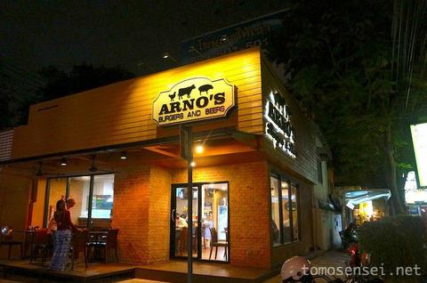 大人気ステーキ店のハンバーガー専門店♪「Arno's Burgers and Beers」へ行ってきた!