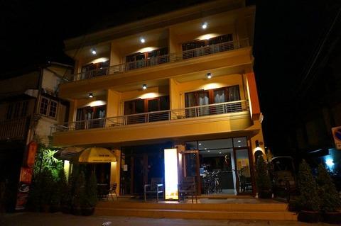 <タイ・ラオス旅行その2>ザ・ピー・ホームテル@ナコンパノム/The P Hometel Nakhon Phanom