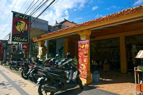 <バリ島旅行2016春その13>休憩に最適〜♪「カフェ・モカ@スミニャック/Cafe Moka Seminyak」
