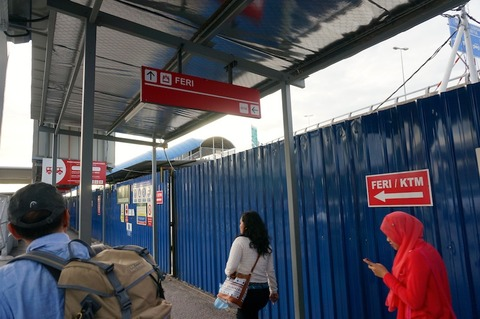 <タイ・マレーシア旅行その6>バタワースからフェリーでペナン島へ!