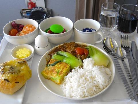 <シンガポール航空機内食>SQ976/SIN-BKK/シンガポール-バンコク