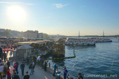 【トルコ旅行 Day6-7】イスタンブール名物のサバサンドは本当に美味しいB級グルメだった!