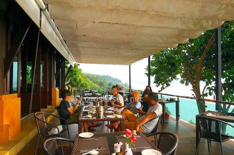 <マレー半島縦断2000kmその9>ミャンマー編③ ビクトリア・クリフ・ホテル/Victoria Cliff Hotel(レストラン)