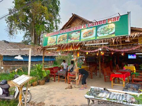 【ランタ島】せっかく海に来たのでシーフードBBQ晩酌「バンブー・レストラン/Bamboo Restaurant」