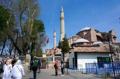 【トルコ旅行 Day6-5】イスタンブールの世界遺産地区をお散歩① アヤソフィアとトプカプ宮殿