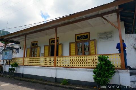 【インドネシア】21_初代副大統領モハマッド・ハッタが島流しで住んでいたお家「Rumah Bung Hatta」