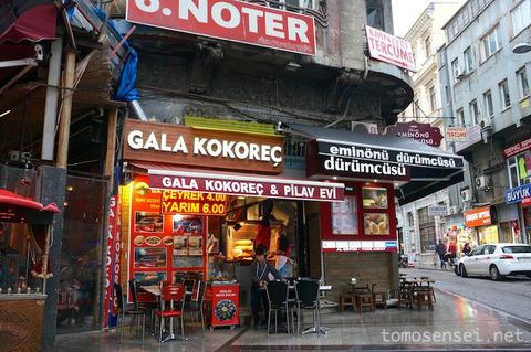 【トルコ旅行 Day7-5】トルコの羊ホルモン焼き「ココレッチ」は酒飲みにはたまらないB級グルメ♡