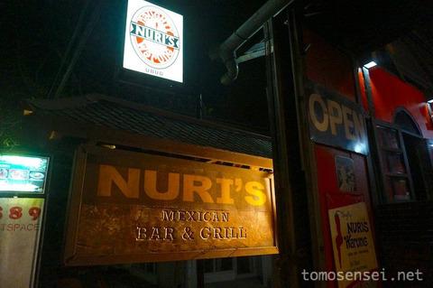 【バリ島&ギリ島】14_スペアリブの有名店「ヌリス・ワルン/Nuri's Warung Mexican」