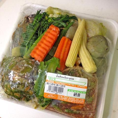 バンコクのスーパーでタイ惣菜を買って食べてみた!