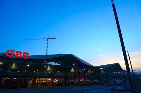 <中欧3カ国周遊その32>ウィーン中央駅のÖBBクラブラウンジで朝食を