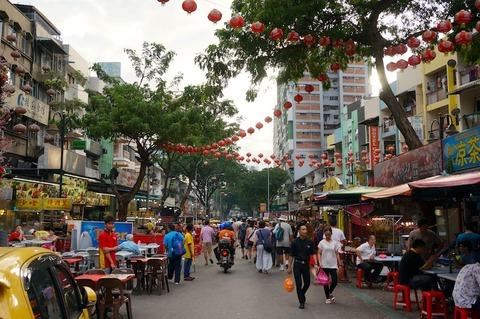 <タイ・マレーシア旅行その19>KLの屋台街アロー通りの人気店「サイ・ウー/Sai Woo/西湖」!
