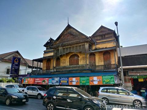 【チェンマイ】市内に残るコロニアル風の古い建物を探してみたよ☆
