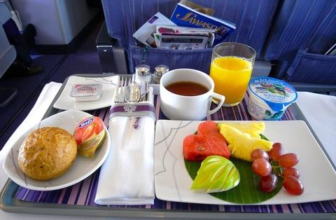 【タイ国際航空機内食】TG403/BKK-SIN/バンコク(スワンナプーム)-シンガポール