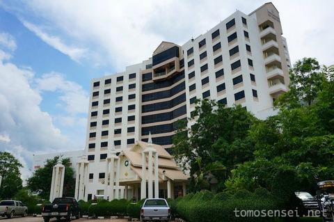 【タイ&ラオス旅行】⑦ムクダハンの高級ホテル「プロイ・パレス・ホテル/Ploy Palace Hotel」
