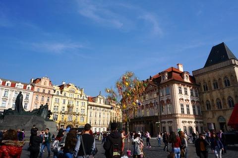 <中欧3カ国周遊その40>プラハ城をさくっと観光