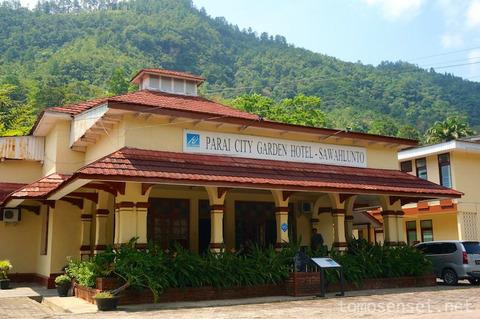 【インドネシア】サワルントのコロニアルホテル「Parai City Garden Hotel」