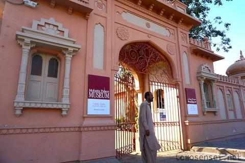 【パキスタン】18_歴史あるムガール様式の宮殿美術館「モハッタ・パレス美術館/Mohatta Palace Museum」