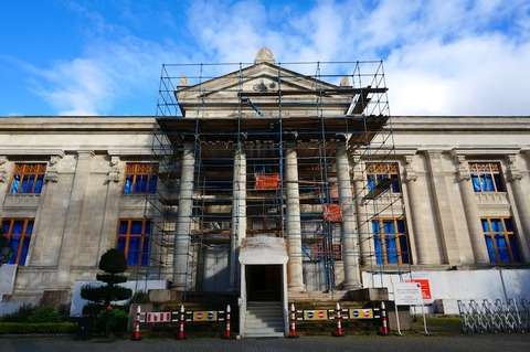 【トルコ旅行 Day8-4】お散歩がてら夕方の国立考古学博物館へ *一部改装工事中