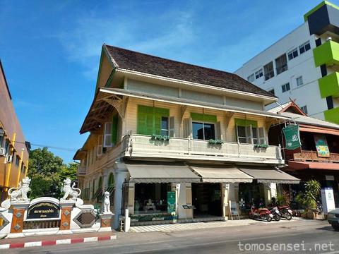 【チェンマイ】コロニアル風のガーデンカフェでハイティーしたよ☆「Raming Tea House Siam Celadon」
