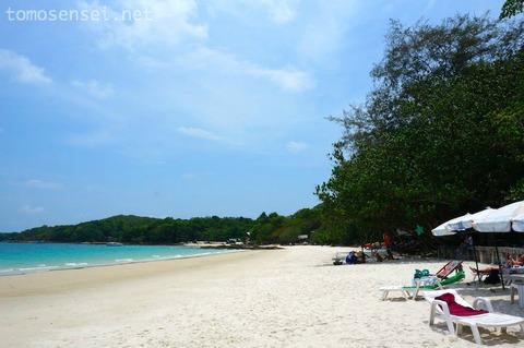 【サメット島旅行】③ビーチでごろんごろんしながら冷たいビールとタイ料理♡