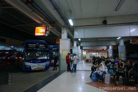<マレー半島縦断2000kmその4>タイ編③ 長距離VIPバスでバンコクからラノーンへ向け出発〜!(580km)