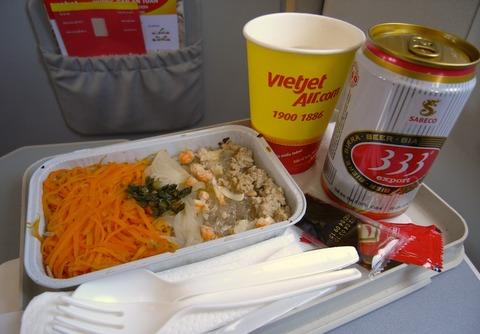 <ベトジェットエア機内食>VJ8901/SGN-BKK/ホーチミンシティ-バンコク