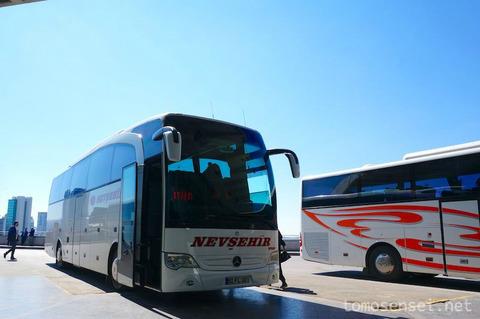 【トルコ旅行 Day1-4】バスでカッパドキアへ!トゥズ湖観光できるかな?