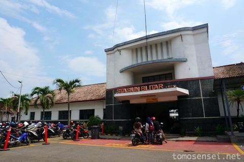 【ジャワ島】12_Penataran号でブリタールから大都市スラバヤまで130円のチープな鉄旅