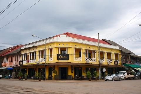 <タイ・ラオス旅行その5>インティラ・ターケーク・ホテル/Inthira Thakhek Hotel
