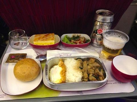 <タイ国際航空機内食>TG431/BKK-DPS/バンコク-バリ島