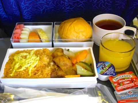 <シンガポール航空機内食>SQ941/DPS-SIN/バリ島-シンガポール