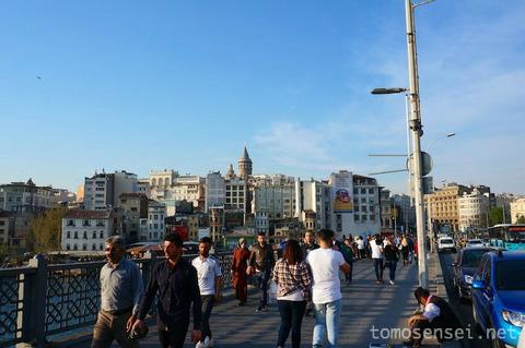 【トルコ旅行 Day6-8】イスタンブール新市街のガラタ塔展望台はサンセットがオススメ!