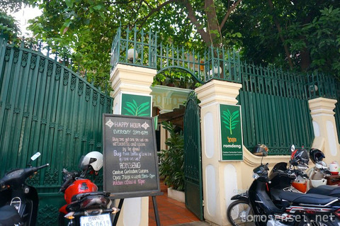 【カンボジア】06_フランスのNGOが運営するコロニアルレストラン「ロムデン/Romdeng」