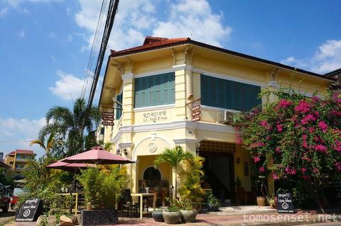 【カンボジア】11_数多くのコロニアル建築が残るカンポットの街をお散歩したよ