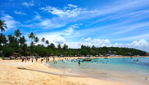 <スリランカ旅行その3>こじんまりしたウナワトゥナビーチ/Unawatuna Beach