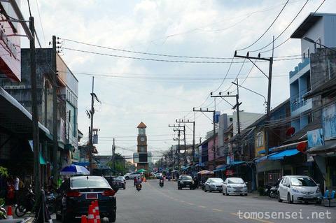 【タイ深南部】12_古い街並のナラティワート市内散策とお土産探し