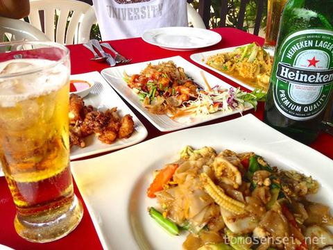 【タイ・ムック島の旅】④コ・ムック・チャーリー・リゾート/Koh Mook Charlie Beach Resort(食事編)