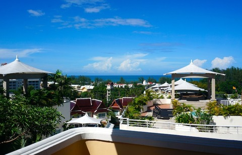 <プーケット旅行その2>パシフィック・クラブ・リゾート(部屋)/Pacific Club Resort Karon Beach Phuket